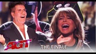 Paula Abdul SHOCKS Simon Cowell + Brian King Joseph w/Tyler Butler Figueroa | America's Got Talent