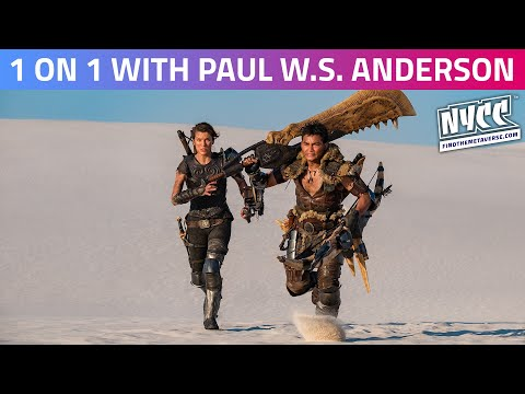 1 on 1 with Paul W.S. Anderson | Mortal Kombat, Resident Evil and a New Look at the Upcoming Monster Hunter