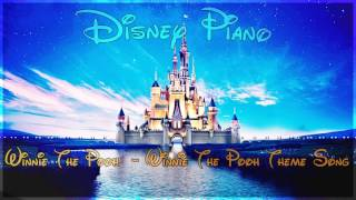 "Disney Piano - Winnie The Pooh ""Winnie The Pooh Theme Song"" - Relaxing Piano"