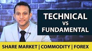 Technical Analysis vs Fundamental Analysis - Share Market