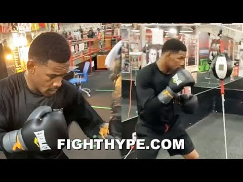 """DANIEL JACOBS TRAINING FOR CHAVEZ JR.; PUTTING IN """"WHATEVER IT TAKES"""" WORK FOR 168 DEBUT"""