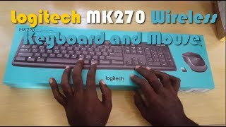 Logitech MK270 Wireless Keyboard and Mouse Unboxing