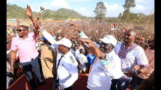 CALM BEFORE STORM: Why NASA is not keen in joining Uhuru's Cabinet