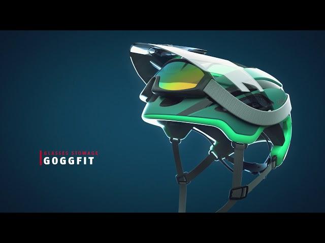 Видео Велосипедный шлем Abus MONTRAILER ACE MIPS Fuchsia Pink