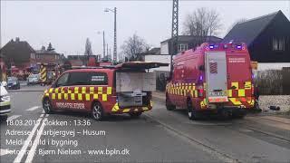 18.03.2019 – Ild i autoværksted – Husum
