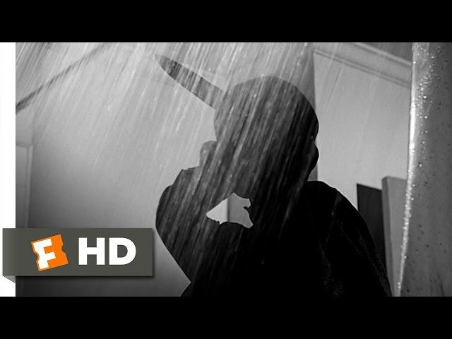 Psicosis/Psycho (1960) Escena del asesinato en la ducha