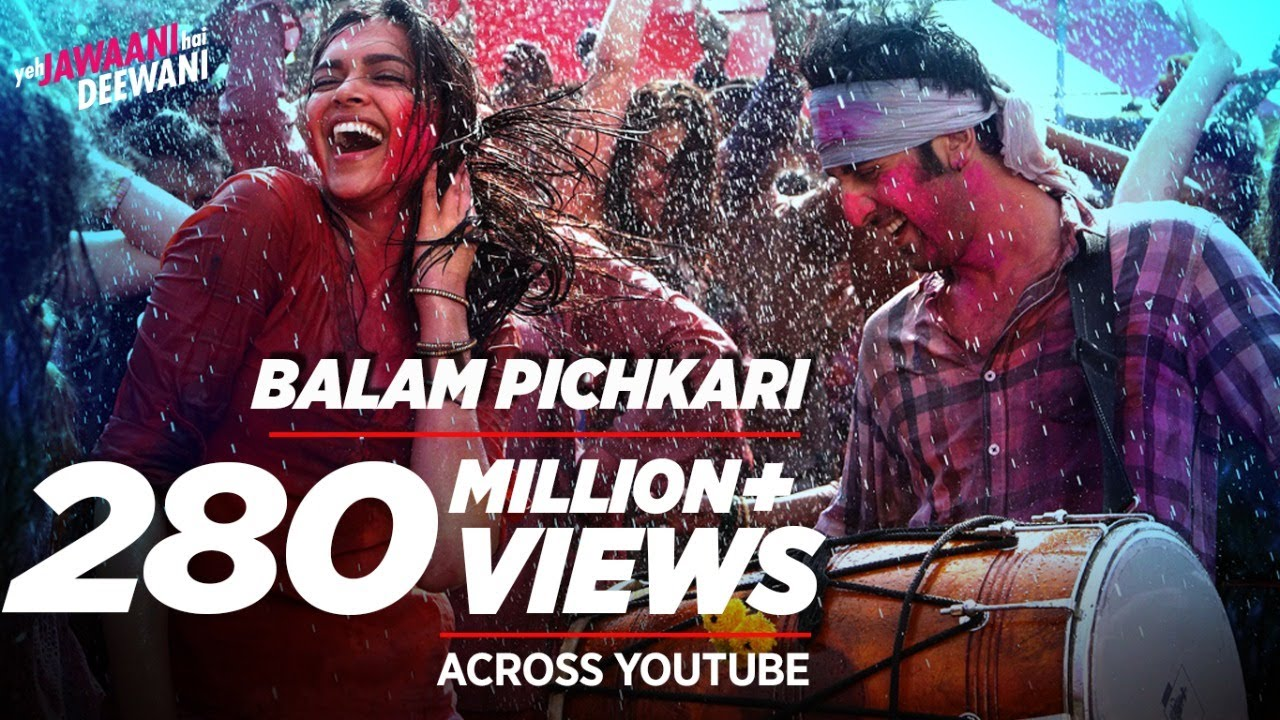 Balam Pichkari Lyrics - Yeh Jawaani Hai Deewani Movie Lyrics