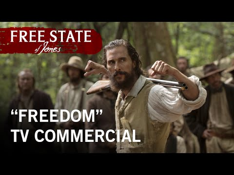 "Free State of Jones | ""Freedom"" TV Commercial 