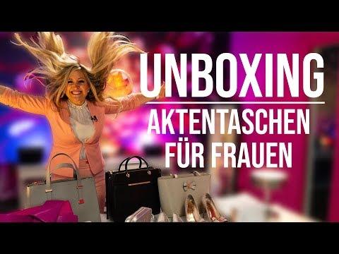 Fashion UNBOXING | Business MUST HAVES im Außendienst: HANDTASCHEN