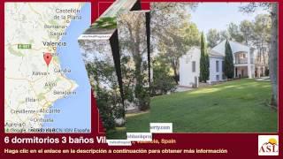 preview picture of video '6 dormitorios 3 baños Villa se Vende en Alberic, Valencia, Spain'