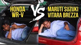 Honda WR-V VS Maruti Suzuki Vitara Brezza: Threat To The King?