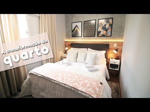 DIY: TRANSFORMANDO O QUARTO DE CASAL PEQUENO