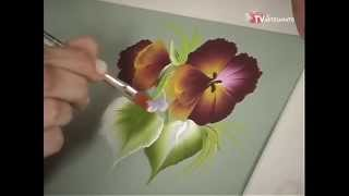 Pintura Gestual – Amor Perfeito