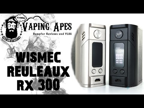 YouTube Video zu Wismec Reuleaux RX300 Akkuträger Carbon 300 Watt