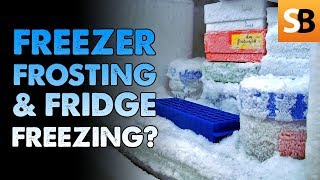 Why Is Your Freezer Frosting & Fridge Freezing