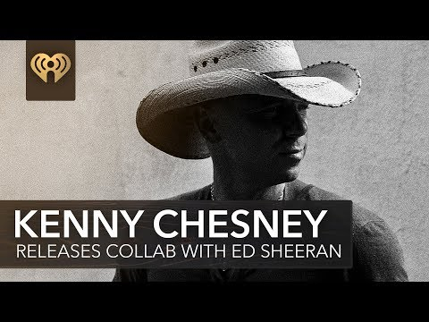 """Kenny Chesney Shares New Ed Sheeran Co-Penned Song """"Tip Of My Tongue"""" 