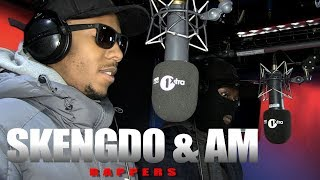 Skengdo & AM - Fire In The Booth - dooclip.me