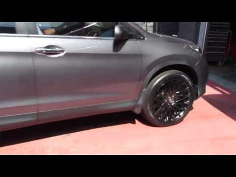 2015 HONDA CRV ON 2O INCH CUSTOM SATIN BLACK LEXANI CSS-16 TIRES & WHEELS