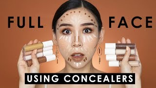 Full Face Using Concealers - Tina Tries It