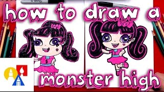 How To Draw Draculaura Monster High Mini