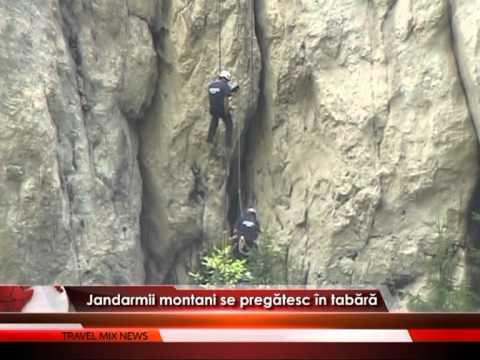 Jandarmii montani se pregătesc de tabără – VIDEO