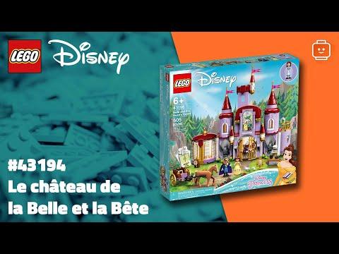 Vidéo LEGO Disney 43196 : Le château de la Belle et la Bête