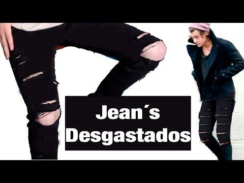 ¿Como desgastar tus Jeans?