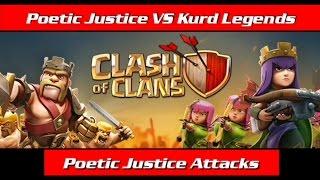 Poetic Justice VS Kurd Legends || Poetic Justice Attacks