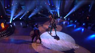 Alicia Keys in Thigh Boots on Dancing With The Stars