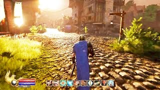 Ashes of Creation 10 Minutes Gameplay Demo (New OPEN WORLD MMORPG 2017)