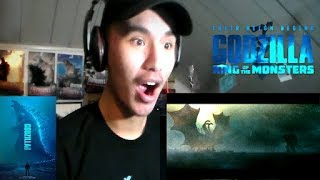 Godzilla: King Of The Monsters Official - Trailer 2 REACTION!!!!