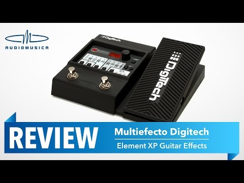 REVIEW / Multiefecto para guitarra ELEMENT XP Digitech