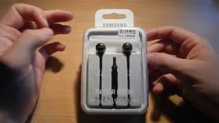 Samsung IN-EAR IG935 HEADPHONES Unboxing and first try in Serbian language