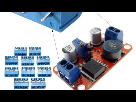 10pcs 5mm KF-301 3 Pin PCB Mount Block Screw Terminal NF Connector