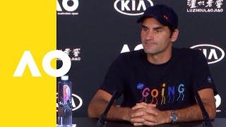 Roger Federer press conference (1R) | Australian Open 2019