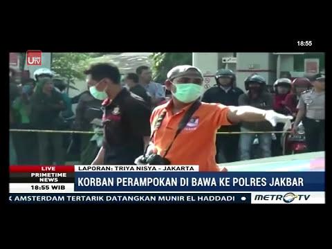 Detik-detik Perampokan Maut di SPBU Daan Mogot
