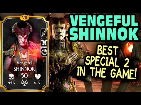 MKX Mobile 1.14 Update. Vengeful Shinnok. Gameplay + Review. X-Ray. 200K Damage Special 2!