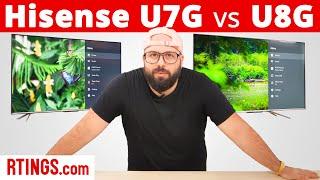 Video: Hisense U7G vs Hisense U8G (2021) – The Art Of Upselling