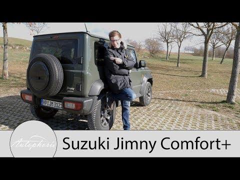 2019 Suzuki Jimny 1.5 AllGrip Fahrbericht / G-Klasse für den schmalen Geldbeutel - Autophorie