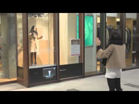 Kinect + Department Store Mannequins = Horrible Waking Nightmare