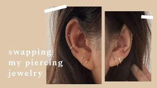 Swapping My Piercing Jewelry For A Curated Ear | Inspiroue