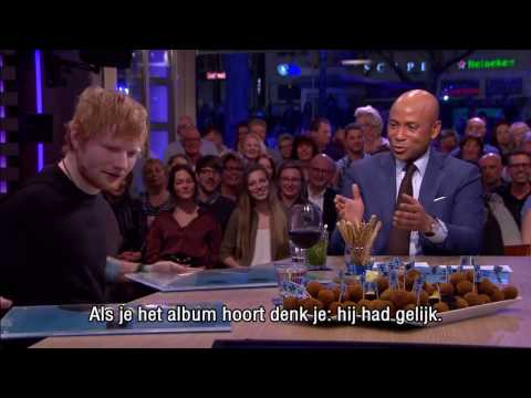 Ed Sheeran: ''I Wrote 'Shape Of You' For Rihanna'' - Interview - RTL Late Night Mp3
