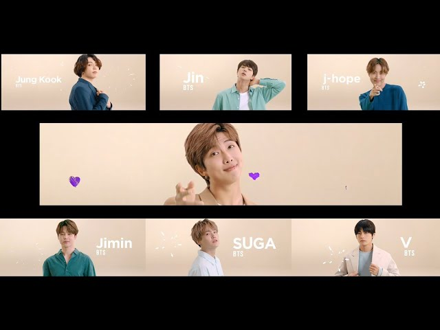BTS X Tokopedia Official TVC (All Members)