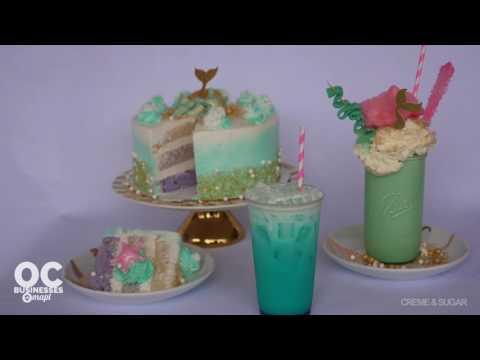 Creme & Sugar's Mermaid Menu - OC Businesses Mapt