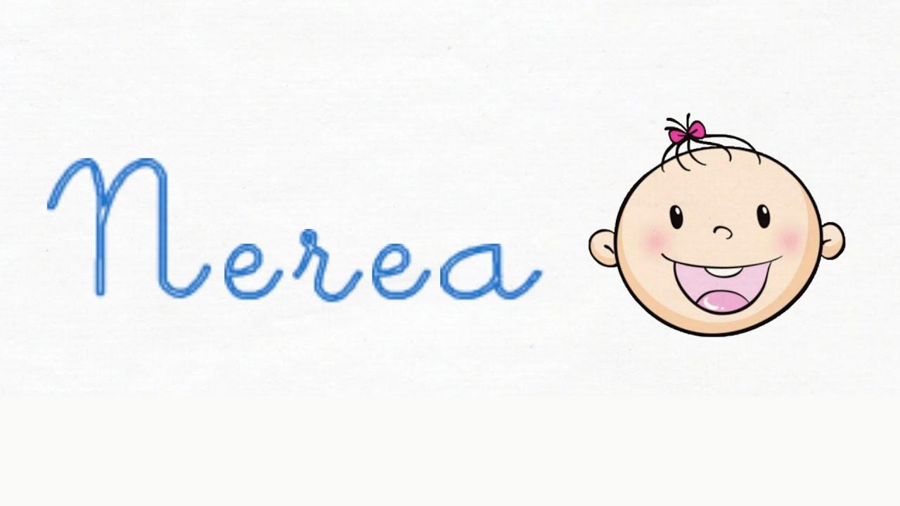 Nerea - Significado y origen del nombre Nerea