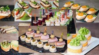 14 Рецептов Праздничных Бутербродов 🎄 Лучшие Канапе для Праздничного Стола ○ Ирина Кукинг