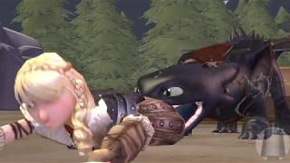 Toothless Vore Astrid - [How To Train Your Dragon] [SFM]