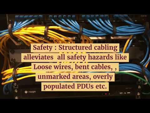 What are the benefits of structured cabling system In Dubai ?