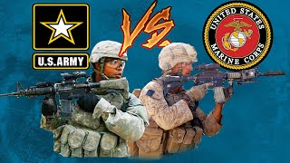 Top 3 Differences Army Vs. Marines