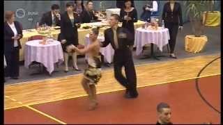 preview picture of video 'Felnőtt-Ifjúsági Standard és Latin OB - Békéscsaba - 2012. 11. 04.'